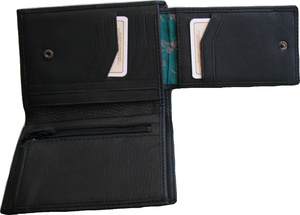 WALLET ELK/MOOSE LEATHER Brown or Black
